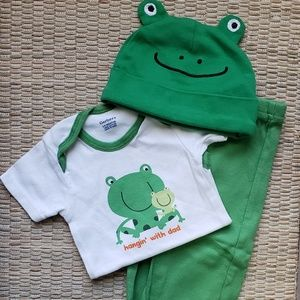 Baby Frog Outfit